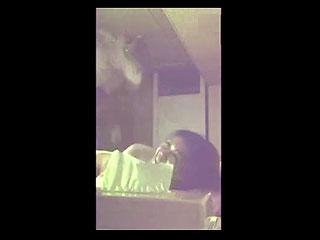 OLの部下女とエッチしてる姿をスマホ撮影し流出させたSEX動画