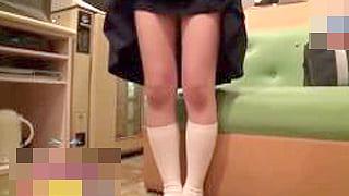 中学3年生のかわいい素人女子と援交エッチ♪個人撮影やばいJC動画