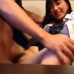【素人★スマホ】マジ美少女だぁーこんな可愛い女子校生がノーパンで歩かされてるよぉーwwwヤンキー彼氏にカラオケBOXでエッチまでされたスマホ動画がヤバイぞぉーwww