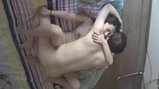 中国のラブホってぇーメルヘンだぁー夫婦のセックス盗撮エロ動画