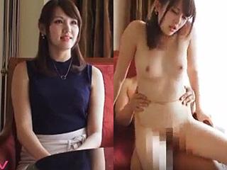 まだ独身で通じる美人人妻のセックスをハメ撮りした素人エロ動画