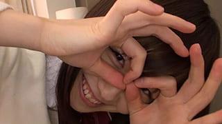 乃木坂にいそうな激カワJKと部屋でエッチした素人撮影エロ動画