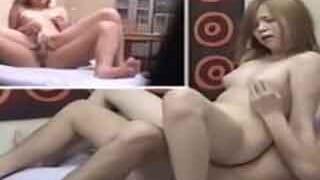 ガチ盗撮だぁー大学で有名なヤリマンGALと部屋でセックスした