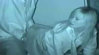 高校生が野外でセックスしてる赤外線カメラで盗撮したエッチ動画