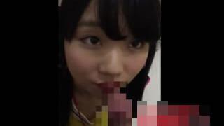 ツイッターのDMで女子大生と会ってフェラさせた顔射スマホ動画